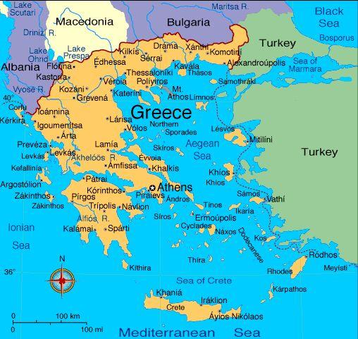 Cartina Della Grecia Con Isole.Type A Title For Your Page Here